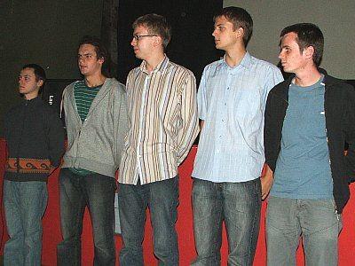 Członkowie filmowej grupy Royal Flush Entertaiment i aktorzy fil