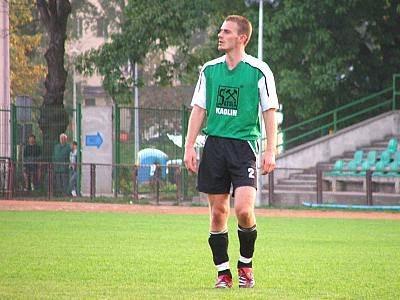 Jacek Jasiński strzelec trzeciego gola dla BKS