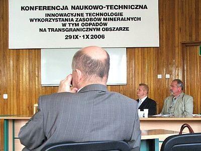Uczetnicy Konferencji Naukowo-Technicznej