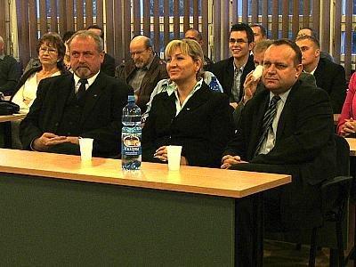 Karol Stasik, Beata Sawicka i Jarosław Duda