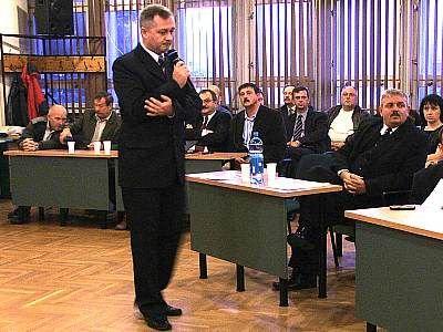 Dariusz Kwaśniewski przedstawia program wyborczy PO