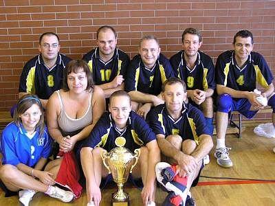 Zwycięska reprezentacja Urzędu Gminy Bolesławiec