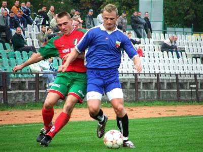 Grzegorz Nowak przy piłce