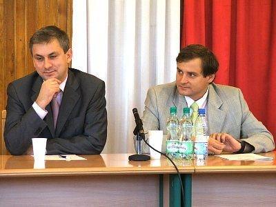 Grzegorz Napieralski i Leszek Cybulski