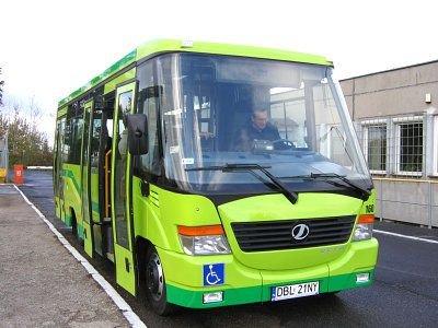 Nowy autobus Miejskiego Zakładu Komunikacji