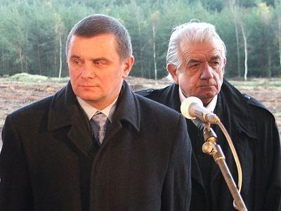 Minister transportu Jerzy Polaczek i minister zdrowia Zbigniew R