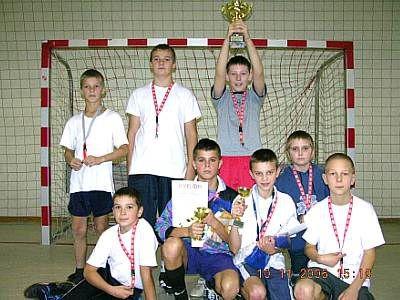 Zwycięska drużyna z Prochowic