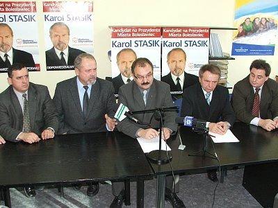 Marian Haniszewski, Karol Stasik, Cezary Przybylski, Stanisław C
