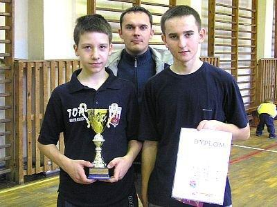 Chłopcy z Gimnazjum nr 3, Mistrzowie Bolesławca w tenisie stołow