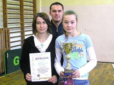 Dziewczęta z Gimnazjum nr 3, Mistrzynie Bolesławca w tenisie sto