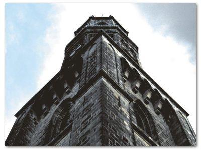 Bolesławiec: Wieża kościoła pw. Matki Bożej Nieustającej Pomocy
