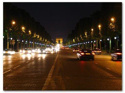 Paryż: Pola Elizejskie