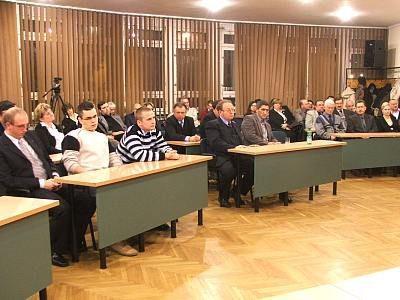 Bolesławianie na spotkaniu z Andrzejem Łosiem