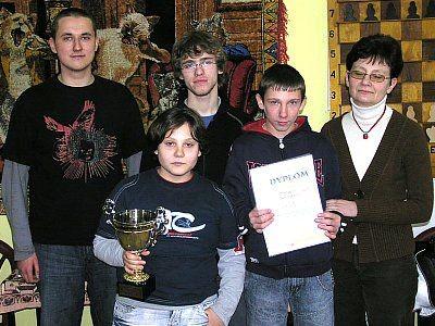 Mistrzowie Bolesławca w szachach, reprezentacja Gimnazjum nr 3