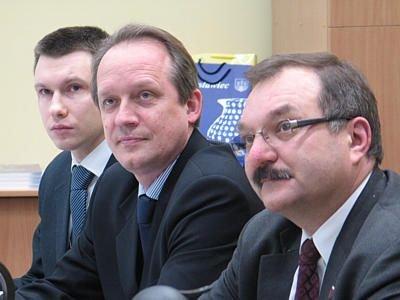 Rzecznik prasowy Ambasady Białorusi, Radca Handlowy Aleksandr Averyanov, Starosta Bolesławiecki Cezary Przybylski