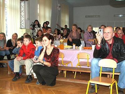 Publiczność na przedstawieniu Bałwankowo