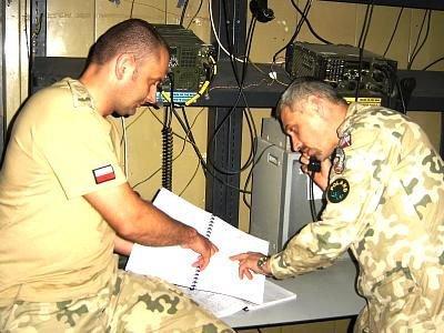Polscy żołnierze stacjonujący w Iraku