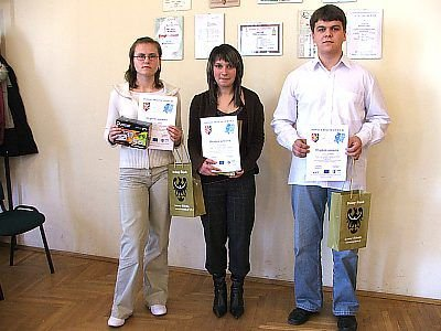 Barbara Panciszko, Angelina Kopeć i Ariel Kurkiewicz
