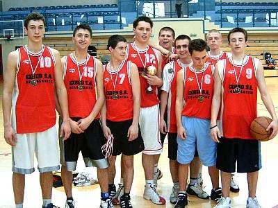 Koszykarze z Zespołu Szkół Elektonicznych