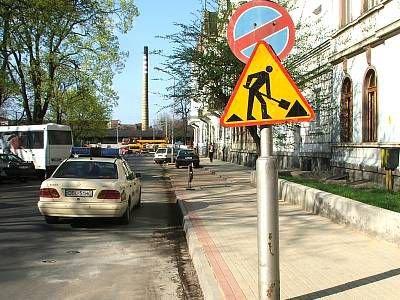 Wyremontowany chodnik przy ulicy Kaszubskiej