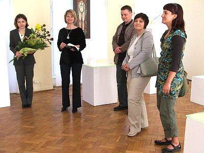 Wrocławsy artyści i dyrektor Muzeum Ceramiki