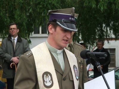 Ksiądz porucznik Marcin Kwiatkowski