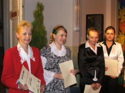 Ewa Dmuchowska i laureatki