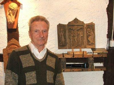 Jan Bancewicz w Galerii Młodzieżowego Domu Kultury