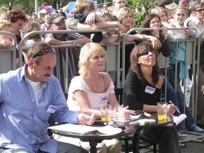 Jury Przeglądu Tańca Nowoczesnego