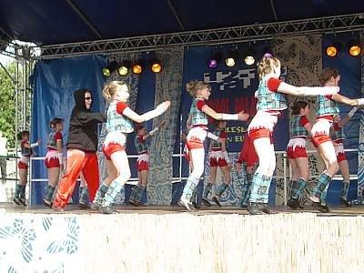 Uczestnicy Przeglądu Tańca Nowoczesnego