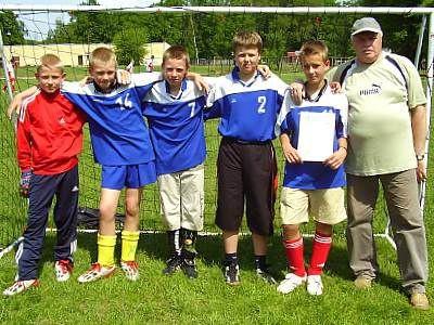 Reprezentacja Szkoły Podstawowej z Osiecznicy