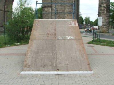 Element bolesławieckiego skateparku