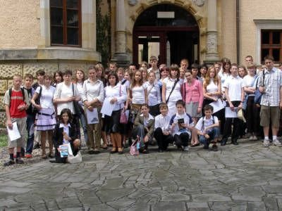 Uczestnicy Powiatowego Turnieju Wiedzy o Sztuce