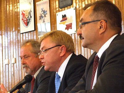 Karol Stasik, Zbigniew Chlebowski i Cezary Przybylski