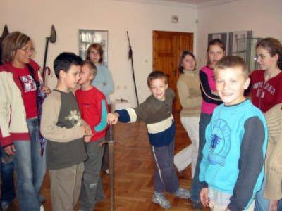 Dzieci ze świetlicy środowiskowo-profilaktycznej