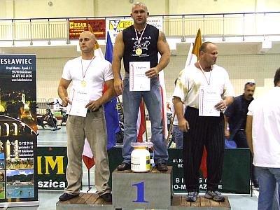 Mężczyźni na podium