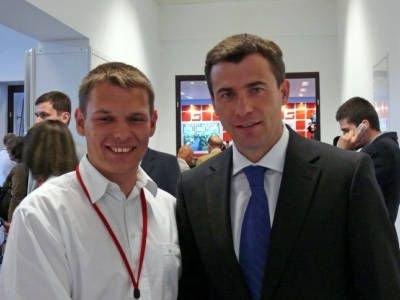 Daniel Biernat i Wojciech Olejniczak