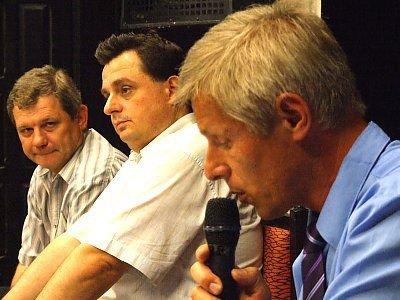 Zbigniew Laska, Jarosław Molenda i Henryk Szewc