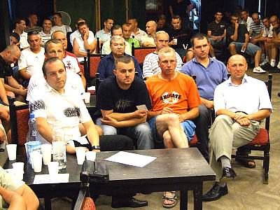 Członkowie i sympatycy MKS Bobrzanie Bolesławiec