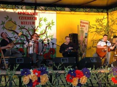 Występ zespołu podczas Spotkania Czterech Kultur