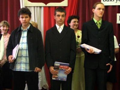 Laureaci konkursów powiatowych