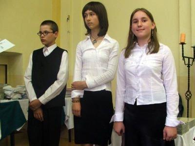 Laureaci konkursu matematycznego szkół podstawowych