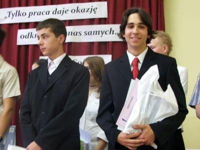 Janusz Wróbel i Przemysław Juda