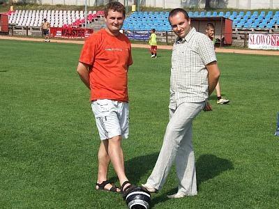 Mariusz Rutkowski i Damian Sawczak