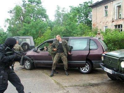 Ćwiczenia służb w Pstrążu