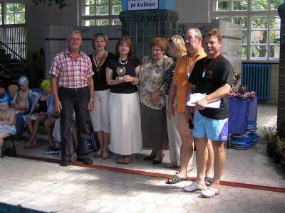 Organizatorzy, pracownicy, wręczający nagrody