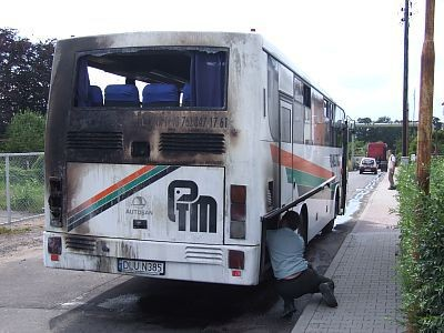 Nadpalony autobus