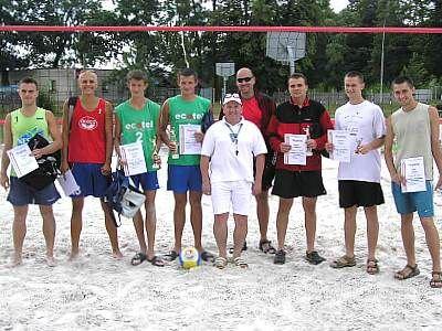 Zwycięzcy mistrzostw siatkówki plażowej