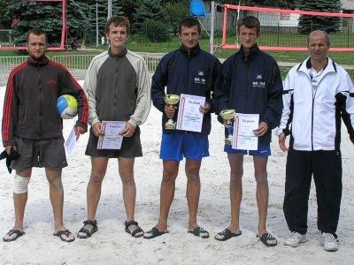 Zwycięzcy II Turnieju Siatkówki Plażowej