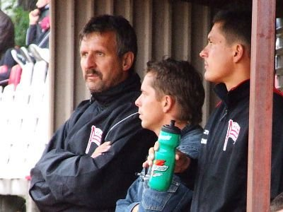 Stefan Majewski - trener Cracovii Kraków